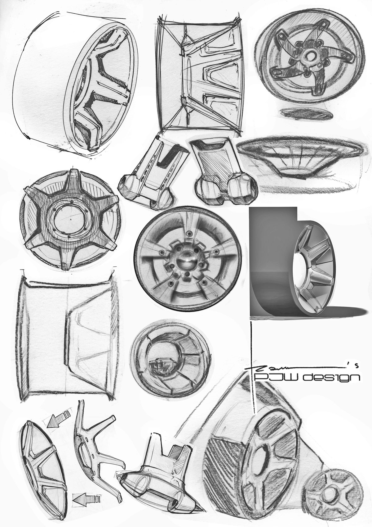 wheels-moodboard